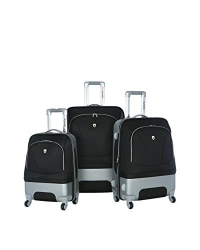 Olympia Majestic 3-Piece Expandable Set, Black