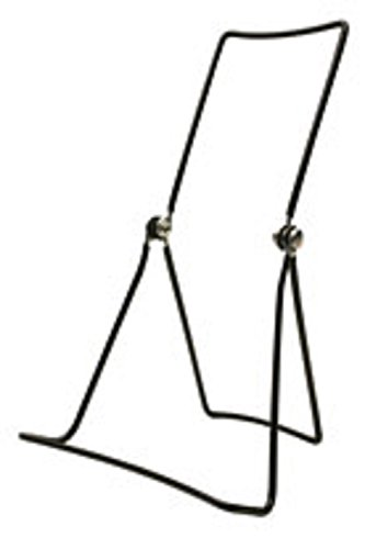 Gibson Holders Three Wire Display Stand for Books, Cookware, Electronics, Set of 2, Black (DCW-B) (Book Display Stand Wire compare prices)