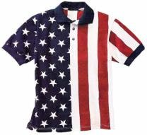 Stars & Stripes Polo Shirt