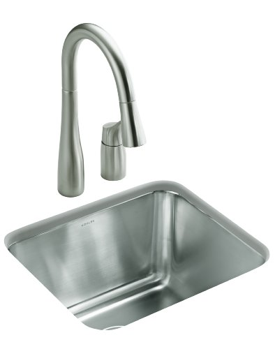 Kohler K-6662-NA Undertone Undercounter Utility Sink