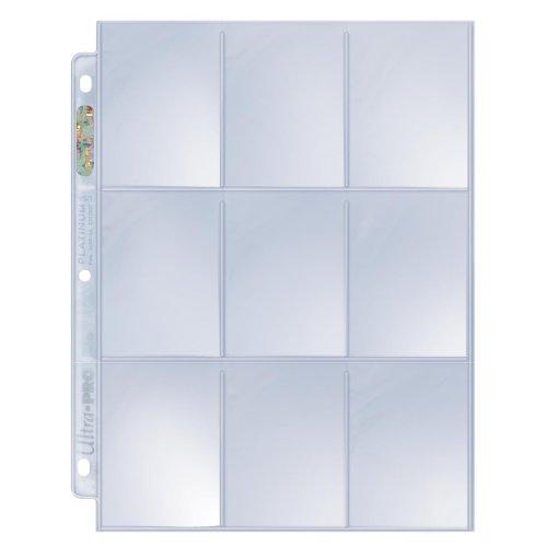 Ultra Pro - 330437 - Jeu De Cartes - Hologramme Pages Platinum 9-poches 11 Hole - C10