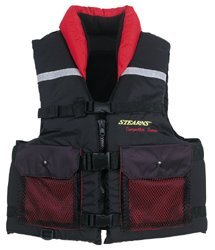 Stearns Competitor Performance Fishing Vest - Blue - size medium by Stearns