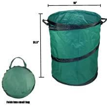 Portable Trash Can 22 X 28 Collapsible Extra Large Large Red Trash Can