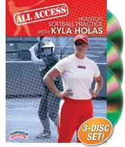 Kyla Holas: All Access Houston Softball Practice (DVD) by Championship Productions