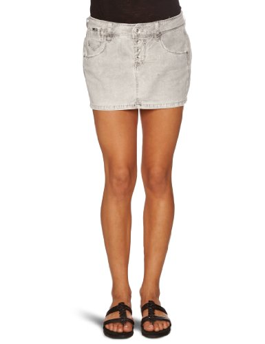 Gas Beyonce Women's Mini Skirt Aluminium W31In