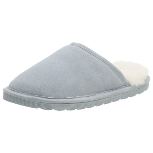 Cheap Jacques Levine Women's 86903 Suede/Shearling Scuff Slipper (B000HQR4XS)