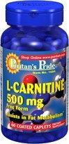 Puritan's Pride L-Carnitine 500mg