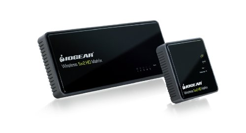 IOGEAR GWHDMS52 Wireless 5x2 HD Matrix Supports Full Uncompressed HD...