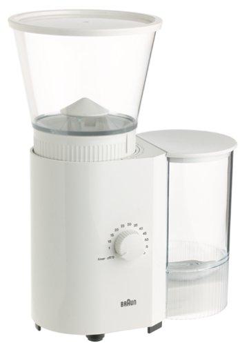 Braun KMM30 Coffee/Espresso Mill, White (Braun Burr Coffee Grinder compare prices)