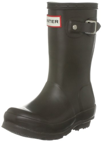 Hunter Original Kids Chocolate Wellington Boot W23500 12 Child UK