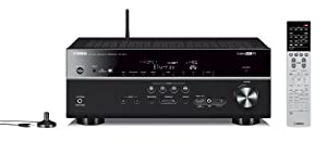 Yamaha RX-V677 7.2-channel Wi-Fi Network AV Receiver