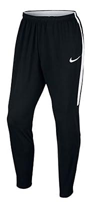 Nike Men's Dry Football Soccer Training Pants (Black, White)