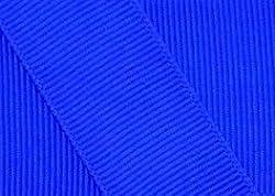 Grosgrain Ribbon 1.5 Inch 20 Yards Electric Blue