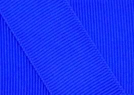 Grosgrain Ribbon 7/8 Inch 5 Yards Electric Blue