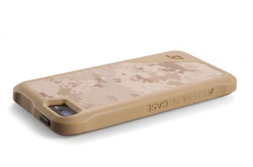 Great Sale ElementCase ION 5 Spec Ops Case for Apple iPhone 5/5s - Tan/Desert Camo