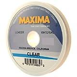Maxima Fishing Line Leader Wheel, Clear, 5-Pound/27-Yard
