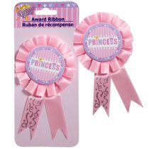 "Princess Hearts Award Ribbons 6½"" - 1"