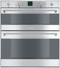 Built Under 60cm Electric Double Multifunction Oven Stainless Steel (DUCO8CSS_SS)