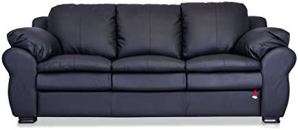 Durian Berry 55003 Three Seater Sofa (Black)