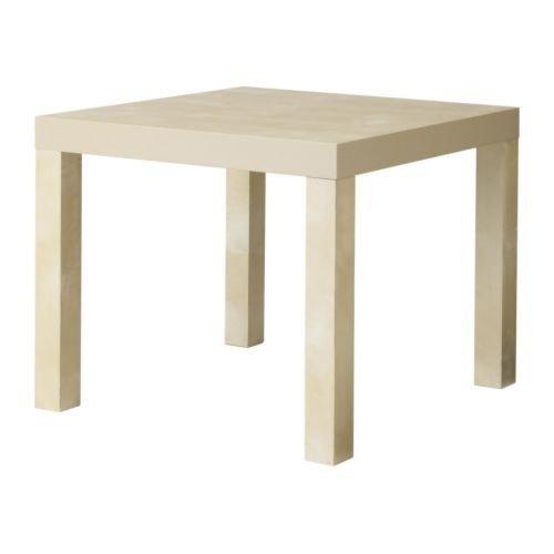 IKEA-Beistelltisch-LACK-Couchtisch-mit-55x55cm-Tisch-in-BIRKENACHBILDUNG
