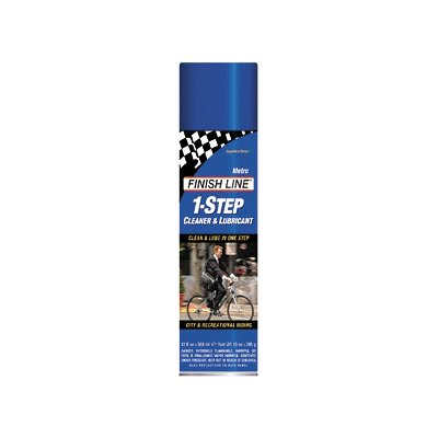 Finish Line Metro 1-Step Bike Lube/Cleaner - 12 oz Aerosol - M00120101
