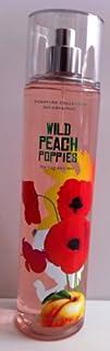 Bath   Body Works Wild Peach Poppies Fine Fragrance Mist 8 Oz