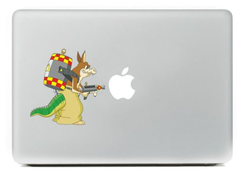 INBOX Macbook Newest Cartoon Animals Decal Vinyl