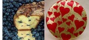 "New England Blueberry 8"" Coffee Cake (Cherished Gift Tin)"