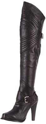 Mojo Moxy Women's Dagger Knee-High Boot,Black,6.5 M US