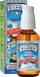Sovereign Silver, 2 Oz. First Aid Gel (Pack of 3)