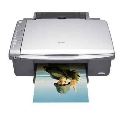 Epson Stylus DX4250 - Imprimante 5760 dpi, scanner 1200 dpi, copieur autonome