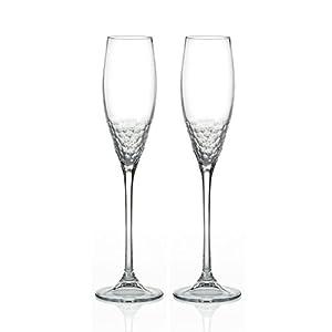 Sequin vera wang crystal flute set 2 highball glasses highball glasses - Vera wang martini glasses ...