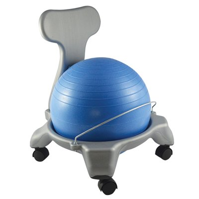 Balance Ball Chair Child Size Blue Toys Games Toys