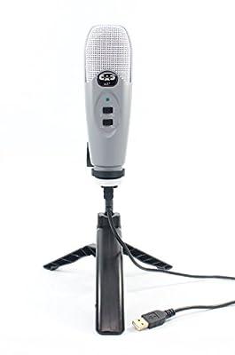 CAD Audio USB Cardioid Condenser Studio Recording Microphone
