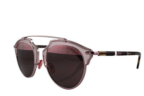 Dior-Womens-Soreal-Pink-Framepink-Lens-Round-48mm-Sunglasses