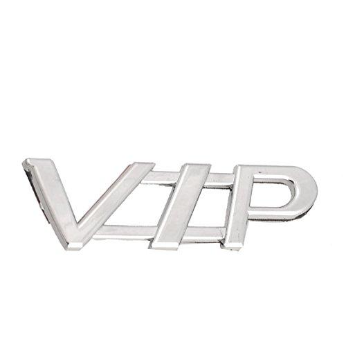 Voiture Argent Auto Tone lettres VIP 3D badge autocollant emblème