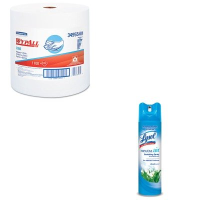 KITKIM34955RAC76938EA - Value Kit - WypAll X60 Teri Reinforced Jumbo Roll Wipes (KIM34955) and Neutra Air Fresh Scent (RAC76938EA)