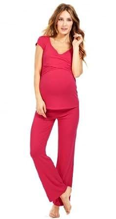 Envie de Fraises Women's Maternity and nursing pyjama Pink 12