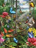 Cheap SunsOut Butterfly Tropics 500pc Jigsaw Puzzle by Lori Schory (B003M6SMTA)