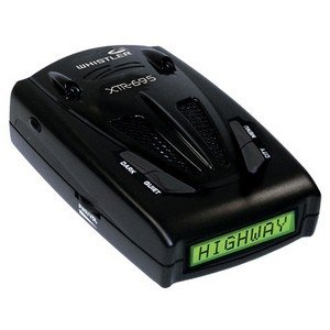 Whistler XTR-695 Laser/Radar Detector with Radar Signature ID, Laser Signature ID, 7-Color Display, Real Voice Alerts and External Audio Jack