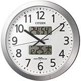 [シチズン 1674704] 電波掛時計 プログラムカレンダー404 4FN404-019