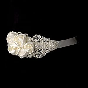 Pearls, Rhinestones & Beaded Wedding Sash Bridal Belt