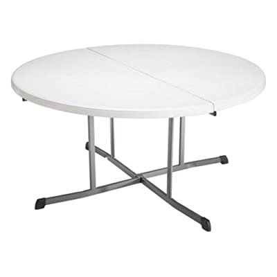 Lifetime 25402 60 in Round Fold in Half Folding Table