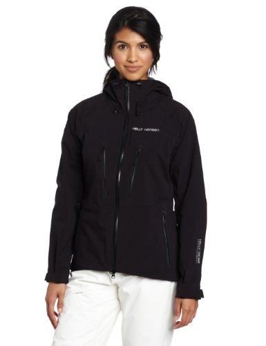 Helly Hansen Women's Verglas Jacket, Black, X-Large
