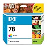HP Model C6654AN No. 78 High-Capacity Color Inkjet Cartridge ~ HP