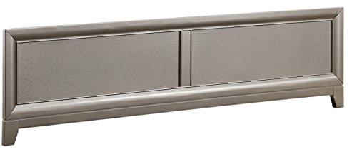 Best Prices! Pearington Glam Panel Footboard w/slats, Queen Bed