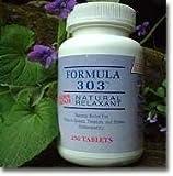 Formula 303 Maximum Strength Natural Relaxant | 250 Tablets