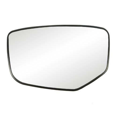 Fit System 88215 Honda Accord Left Side Power Replacement Mirror Glass With Backing Plate back-52973