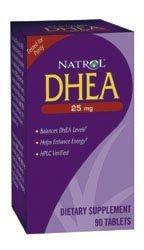 Natrol DHEA - 25 mg - 90 capsules