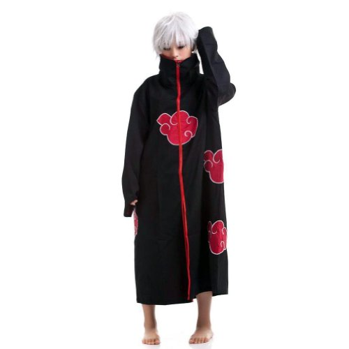 Cosplay Costume Naruto Cloak Clothes Cartoon Character Costumes Size S-XXL